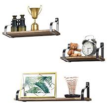 living room storage shelves living room floating shelves amazon com love kankei floating shelves wall mounted set of 3 by