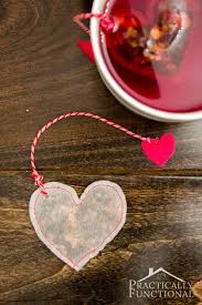 heart shaped tea bags diy heart shaped tea bags for s day