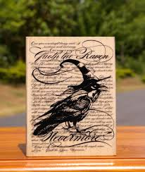 halloween raven background details about raven background wood mounted rubber stamp 2012 by