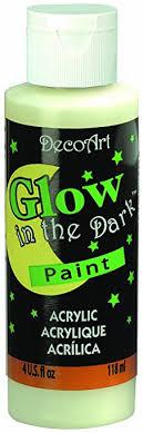 glow in the decoart ds50 10 glow in the paint 4 ounce