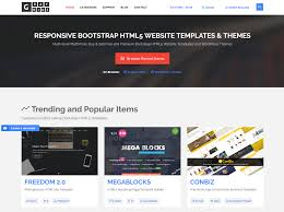 templates bootstrap html5 10 best bootstrap themes templates marketplaces to buy and sell