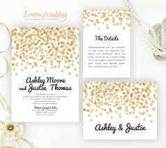 wedding stationery sets polka dot wedding invitation sets lemonwedding