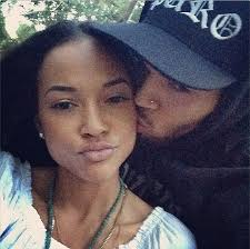 brown s day chris brown spends day with karrueche daily mail