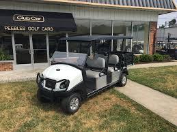 2018 club car transporter with stake side cargo box peebles golf