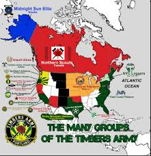 Mls Teams Map Timbers Army Regiments Grow Far And Wide Across The U S The