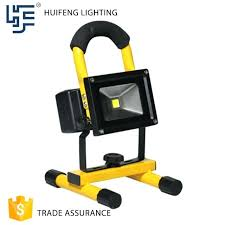 battery powered work lights battery operated flood lights portable battery powered led work
