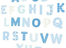 Alphabet Wall Decals For Nursery Alphabet Wall Decal Nursery Wall Decal Alphabet Wall Wall Letter