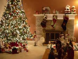 Bright Christmas Decorations Living Room Garland Christmas Tree Santa Claus 1215 Jewcafes