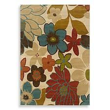 oriental weavers emerson area rug in multi flower town bed bath