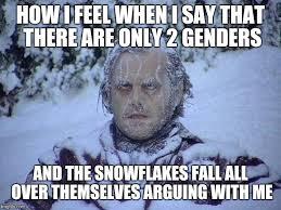 I Say Meme - jack nicholson the shining snow memes imgflip