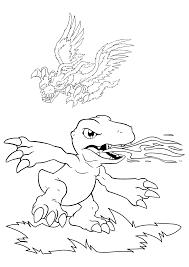 digimon coloring pages coloringpages1001 com