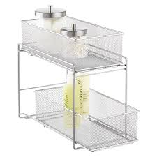 Bathroom Shelving And Storage Sink Organizers Bathroom Cabinet Storage Organization