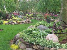 Landscaping Ideas For Front Yards Rock Yard Landscaping No Grass Front Yard Ideas Bountiful
