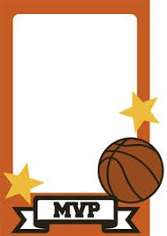 basketball trading card cutout use this as a thank you card with