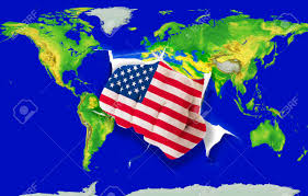 Map Of The United States In Color by Fist In Color National Flag Of Us Punching World Map As Symbol