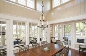 traditional dining room with crown molding u0026 chandelier in kiawah