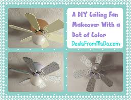 how to make diy ceiling fan decoration diy tag