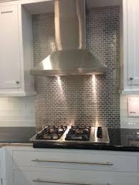 Steel Tile Backsplash by Design Elements Creating Style Through Kitchen Backsplashes