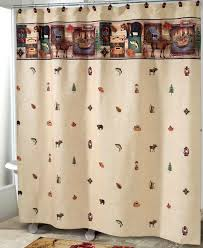 Cowhide Shower Curtain Rustic Bear Chenille Suede Shower Curtain Reclaimed Furniture