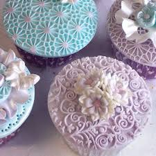 Romantic Designs by Romantic Swirl Cupcake Decorating Silicone Mould By Katy Sue Designs