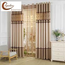 rideaux de chambre à coucher byetee linge broderie couture cuisine rideaux pour salon chambre