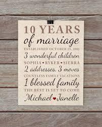 1 year wedding anniversary gifts for wonderful 10 year wedding anniversary gifts for image
