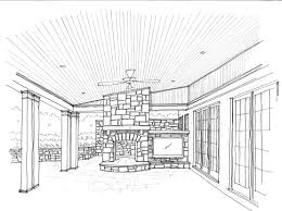 Bedroom Design Drawings Living Room Sketcher