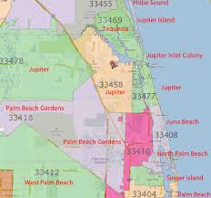 Printable Zip Code Maps by Palm Beach I Love Sobe