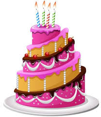 birthday cake delicious birthday cake with candle vectors 01 vector birthday