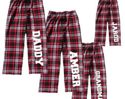 personalized family pajama for the whole family input