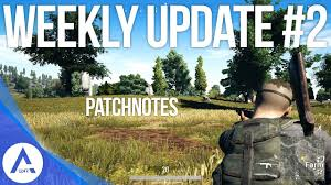 pubg xbox update pubg xbox weekly update 2 patch notes youtube