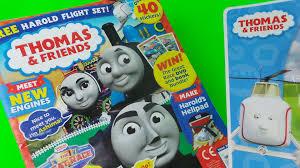 thomas tank engine friends comic magazine free toy