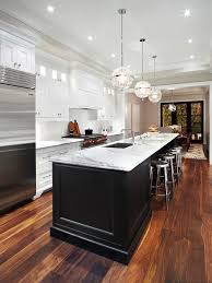 White And Black Kitchen Cabinets Black And White Kitchen Houzz