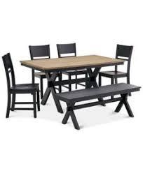 baker street dining table baker street dining furniture 5 pc set dining trestle table 4