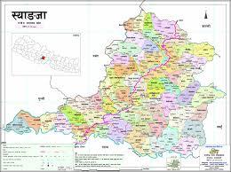 Maps Nepal by Syangja Everest Map