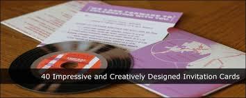 creatively designed creatively designed invitation cards