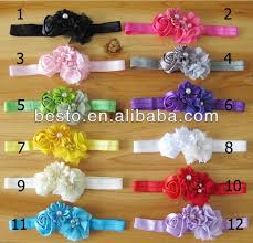 bando headbands cf 0777 2014 top infant toddler make fabric chiffon knotted satin