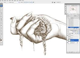 how to draw a classic hand using a graphics tablet go media