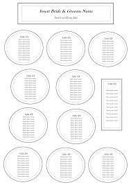 round table number of seats table seating template coles thecolossus co