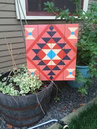 southwest native design barn quilt barn quilts by chela