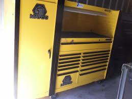 matco double bay tool box hutch u0026 side locker with craftsman