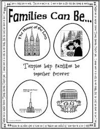 families can be together forever file folder