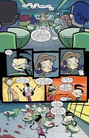 invader zim 19 comics by comixology