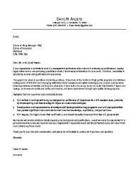 covering letter resume letter example executive or ceo