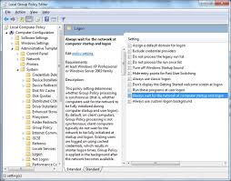 control how group policy is applied at logon