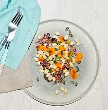 comment cuisiner les cocos de paimpol salade de cocos de paimpol aux petits poulpes et carottes graines