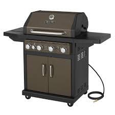 dyna glo dge486bsp d 4 burner bronze lp gas grill walmart com