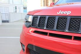 jeep grand cherokee front grill the 2017 grand cherokee srt is in a lane of its own the drive