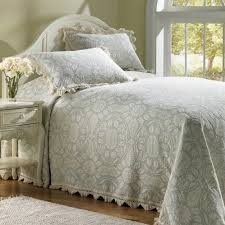 Colonial Coverlets Colonial Rose Matelasse Bedspread The Trendy Bed
