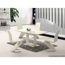 white high gloss table space white high gloss extending dining table 120cm to 160cm
